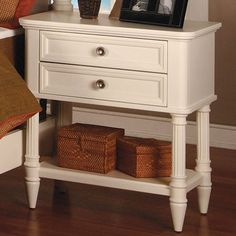 I pinned this Norham Nightstand in White Tie from the Matley & Co. event at Joss and Main!