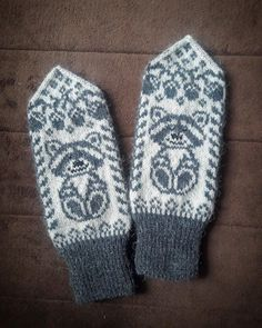 Knit Mittens, Gloves, Knitting, Projects, Tricot, Log Projects, Blue Prints, Breien, Stricken