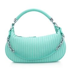 Marlow hobo in Tiffany Blue® smooth leather, small. More colours available.