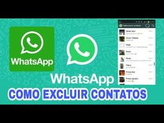 SAIU!! Como Excluir ou Remover Qualquer Contato do Whatsapp Passo a Passo - YouTube Remover, Internet, Science And Technology, Youtube, Life Hacks, How To Remove, Iphone, Videos, Pasta