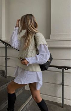 Winter Fashion Outfits, Look Fashion, Spring Outfits, Autumn Fashion, Womens Fashion, Fall Winter Outfits, Spring Dresses, Fashion Fashion, High Fashion