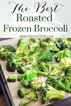 How To Roast Frozen Broccoli