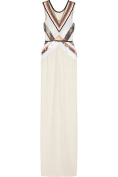 Sass & bide | Any Given Friday embellished silk gown | NET-A-PORTER.COM: #weddingdress #unique