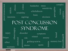 Hopefully, this article gives you some insight into Post Concussion Syndrome including the symptoms and treatment options. Description from multisportpsychological.com. I searched for this on bing.com/images