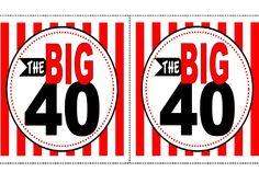 40th Birthday Free Printable | Scribd