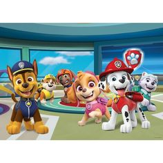 Paw Patrol Weihnachten, Dinosaur Kids Room, Paw Patrol Christmas, Buy Wallpaper Online, Christmas Pictures, Decoration, Wall Murals, Tour, Prints