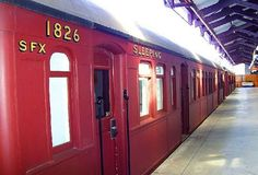 15 Unusual and Amazing Hostels Around the World  by Alison Nastasi.  Railway Square  Just outside of Central Station in Sydney is Railway Square, where guests can sleep inside one of the converted railway carriages on the former Platform Zero, or inside the historic, renovated 1904 building.