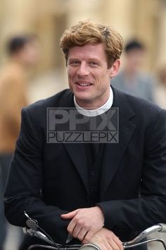 James Norton On Set Of Grantchester In Cambridge 3 sept 2015