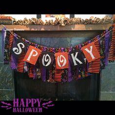 Halloween Burlap Banner Witch Burlap Banner by QueensBanners