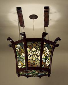 Charles Sumner Greene and Henry Mather Greene / Chandelier / 1907-9   The Metropolitan Museum of Art / so beautiful....