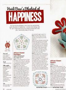 Heidi Bears - African Flower Bluebird of Happiness (c) - gurumi var - Picasa Web Albums