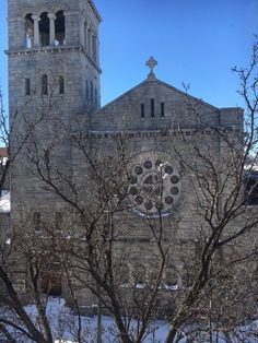 """Sunday, January 24, 2016. In the afternoon of the """"Snowzilla"""" blizzard with 29.2 inches of snow. A rare day the church was closed on a Sunday!"""
