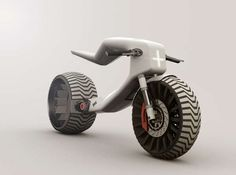 Minimalist E-Bike Concepts - The E-MX Electric Motorcycle is Designed with Subtly in Mind (GALLERY)