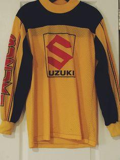vintage yamaha motorcross jersey size smallhappypigvintage