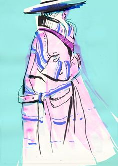 fashion łyk 2015 - fashion illustration, niedzielska