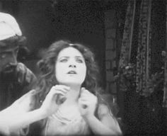 from a Tumblr gif.  MF in King Rene's Daughter, 1913.