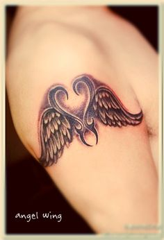 angel wing tattoo on forearm angel wing tattoos for men on arm the masculine of angel. Black Bedroom Furniture Sets. Home Design Ideas