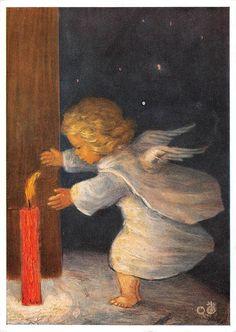 "vintage blank greeting cards ARS SACRA Spötl""angels and light""1366"" | eBay"