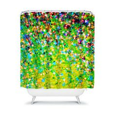 HOLIDAY CHEER Art Shower Curtain Bold Green Yellow by EbiEmporium, $89.00 #green #holiday #cheer #joy #festive #Christmas #ombre #lime #avocado #forest #hunter #sparkle #stars #lemonlime #whimsical #boldcolors #modern #art #fineart #abstract #painting #acrylicpainting #lovely #bathroom #decor #homedecor #decorative #interiordecor #design #interiors #chic #glam #contemporary #girly #shower #curtain #showercurtain #xmas #stylish #trendy