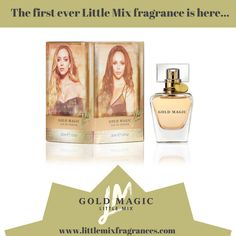 #AD We're absolutely loving the new Gold Magic fragrance from Little Mix! #GoldMagic #LittleMix