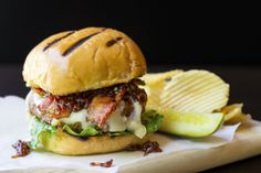 Get ready to RULE Memorial Day weekend. This Raspberry-glazed Bacon Brie Burger will get glowing reviews from your family and guests... just make sure that you leave yourself one to eat. We all know how well brie cheese pairs so well with the sweetness of a fruit like raspberries. Add to that a rich, juicy beef burger, and some salty crispy bacon and you will be one cold beer short of being in heaven. To start with, I must let you know that I have a pretty strong opinion when