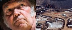 neil young doesn't want Canada 'trashed and plundered' for oil money
