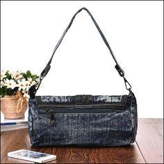 Denim Shoulder Bags, Store, Jeans, Fashion, Upcycling, Moda, Fashion Styles, Larger, Fashion Illustrations