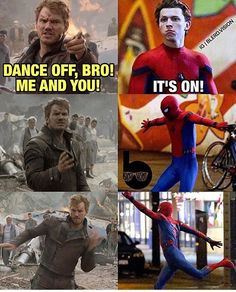"@tomholland2013: ""@prattprattpratt it's on! Well done to whoever made this """