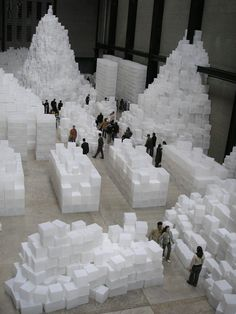 Rachel Whiteread,  (born 20 April 1963) is an English artist who primarily produces sculptures, which typically take the form of casts. She won the annual Turner Prize in 1993.Whiteread is one of the Young British Artists, and exhibited at the Royal Academy's Sensation exhibition in 1997. Among her most renowned works are House, a large concrete cast of the inside of an entire Victorian house, and for her resin sculpture for the empty plinth in London's Trafalgar Square.