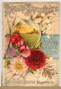 Richard H. Rotscher's 'Garden Manual' 1896