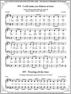 easy bible songs- i will make you fishers of men - Google Search