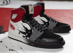 Air Jordan Retro 1 Dave White