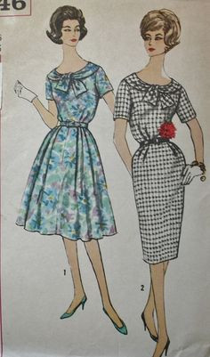 Vintage Sewing Pattern 1960s