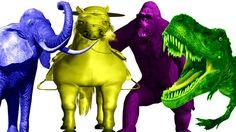 Most Amazing Wild Animals Attacks | DinosaurGorillaHorseElephant | Animals Sounds For Children https://youtu.be/8R_i_Nx75YI