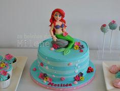Ariel Little mermaid - Cake by Milene Habib