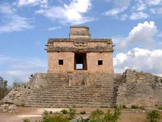 Mayan Ruins...Dzibilchaltun near Progresso, Mexico.' House of the Seven Dolls'