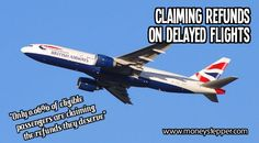 Literally millions of people are not claiming refunds on delayed flights and could be due £100s in compensation. Find out how today!