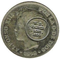 Sello conmemorativo d ela ocupacion alemana, sobre moneda española File:Mariana coin 2013 deriv 000.jpg
