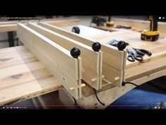 How to make bungee cauls for gluing up a table top, filling knots with epoxy, and more! - YouTube