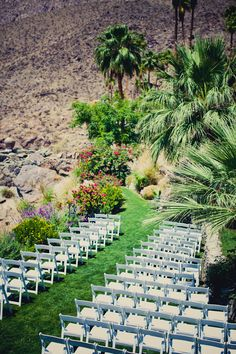 Jeff + Kim's Palm Springs Wedding