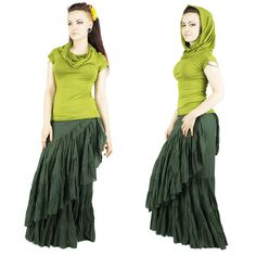 Vêtements femmes vert anis. Gipsy, Bohémien, tzigane, jupes, jupe longues, capuche, dentelle, corset, grand col, trance festival, burning man, burlesque, froufrou, romantique, danse, cabaret, artiste,tribal gipsy, Women's Clothes, Gypsy, Bohemian skirts, long skirt, corset, lace, festival, trance festival, burning man, burlesque, frilly, romantic, dance, cabaret artist, tribal gipsy, dreadlocks, goa,purple. Par BaliwoodShop!!! more to see on store ! https://www.etsy.com/fr/shop/BaliWoodShop