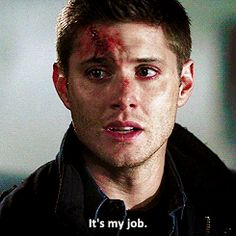 i could strangle john for making dean feel like his only worth was to take care of sammy :(