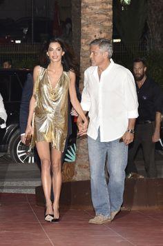 Amal Clooney et sa robe bling   Clin d'oeil