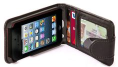Cellsafe iPhone 5 Leather WALLET Case