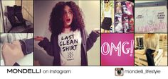 Folge uns auf http://instagram.com/mondelli_lifestyle Immer up-to-date – Aktionen, aktuelle News, heiße Trends und neue Styles