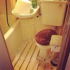 「ユニットバス」 「トイレ床」 「Bathroom」 が写っているseekさんのインテリア実例写真を紹介します。2014-07-13 10:39:20に撮影されました。
