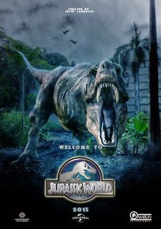 Jurassic World 2015 Twenty-two years after the events of Jurassic Park, Isla Nublar now features a fully functioning dinosaur . Michael Crichton, Science Fiction, Fiction Film, Chris Pratt, Jurassic World Park, Jurassic Movies, Jurrassic Park, Image Film, World Movies