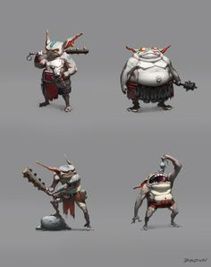 This is pretty much what I've been looking for for my Pathfinder game. Appropriating these Goblins for my purposes. :)
