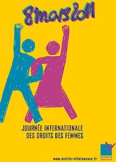 Actualité   Atelier artistique pour la journée de la Femme - Vanessa Vérillon Power Pop, Girl Power, Bart Simpson, Mars, Posters, Graphics, France, Life, Fictional Characters