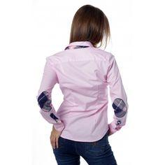 Camisa lisa marina tapeta lady Valecuatro